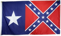 Texas Rebel Confederate Flag 3 x 5 Foot