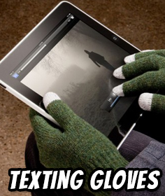 Texting Gloves - Touch Screen Phone & Pad Smart Gloves (Gloves for Texting)