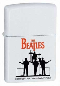 "The Beatles ""Show Time"" Silhouette Zippo Lighter"