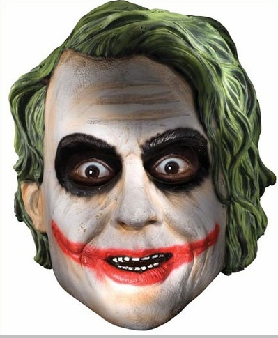 The dark knight official joker mask for Joker mask template