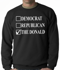 Donald Trump Merchandise - The Donald Adult Crewneck