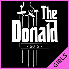 The Donald - The God Father Inspired Ladies T-shirt