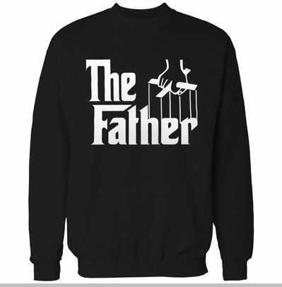 The Father Funny Adult Crewneck<!-- Click to Enlarge-->