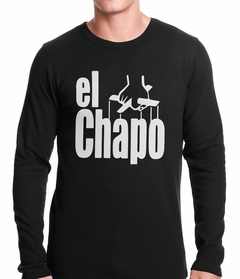 The God Father Inspired El Chapo Thermal Shirt