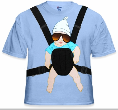 The Hangover Baby Carlos Baby on Board! T-Shirt<!-- Click to Enlarge-->