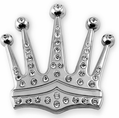 The Kings Crown Belt Buckle with FREE  Belt