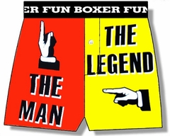 The Man The Legend Boxer Shorts