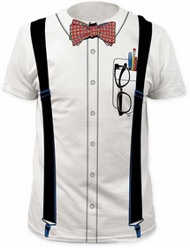 Halloween Costume T-Shirt - The Nerd Tuxedo Costume Men's T-Shirt