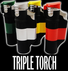 "The New ""Incinerator"" Tri-Torch Lighter"