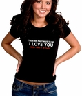 There Are Many Ways To Say I Love You Girl's T-Shirt