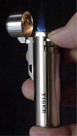 Tiger Torch Lighter with Compass