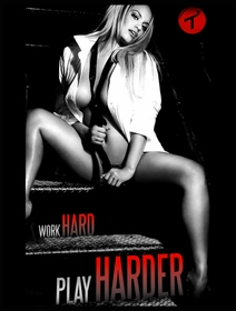 Tits Shirts - Work Hard, Play Harder Mens T-shirt