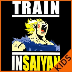 Train Like Insaiyan Kids T-shirt