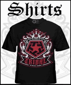 Tribal Gear T-Shirts, Longsleeves, Shorts, & More