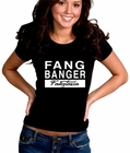 True Blood Fangtasia Fang Banger Girl's T-shirt