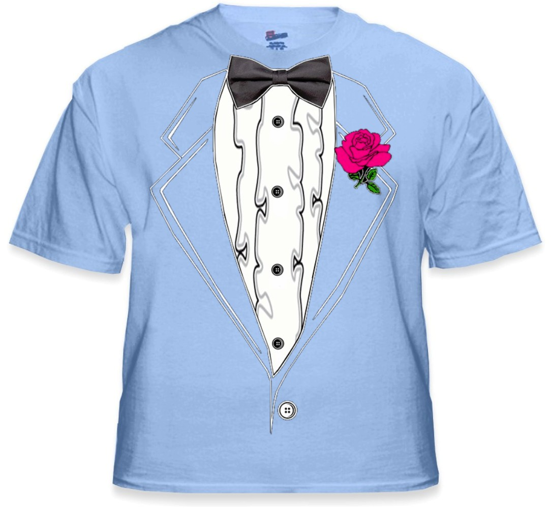 Tuxedo t shirts mens light blue ruffled tuxedo t shirt for Red ruffled tuxedo shirt
