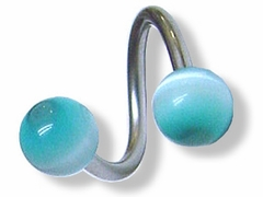 Twisted Barbell Body Jewelry