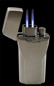 Two Flame Torch & Utility Flame Lighter in One