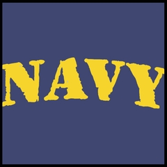 U.S Navy Military Men's T-Shirt (Yellow)