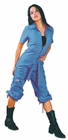 UFO Girly Hipster Flight Suit (Neon Blue)