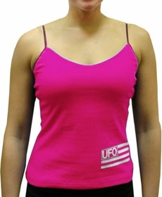 UFO Girly Tank Top (Hot Pink)