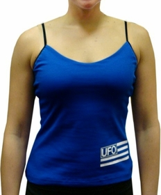 UFO Girly Tank Top (Royal Blue)