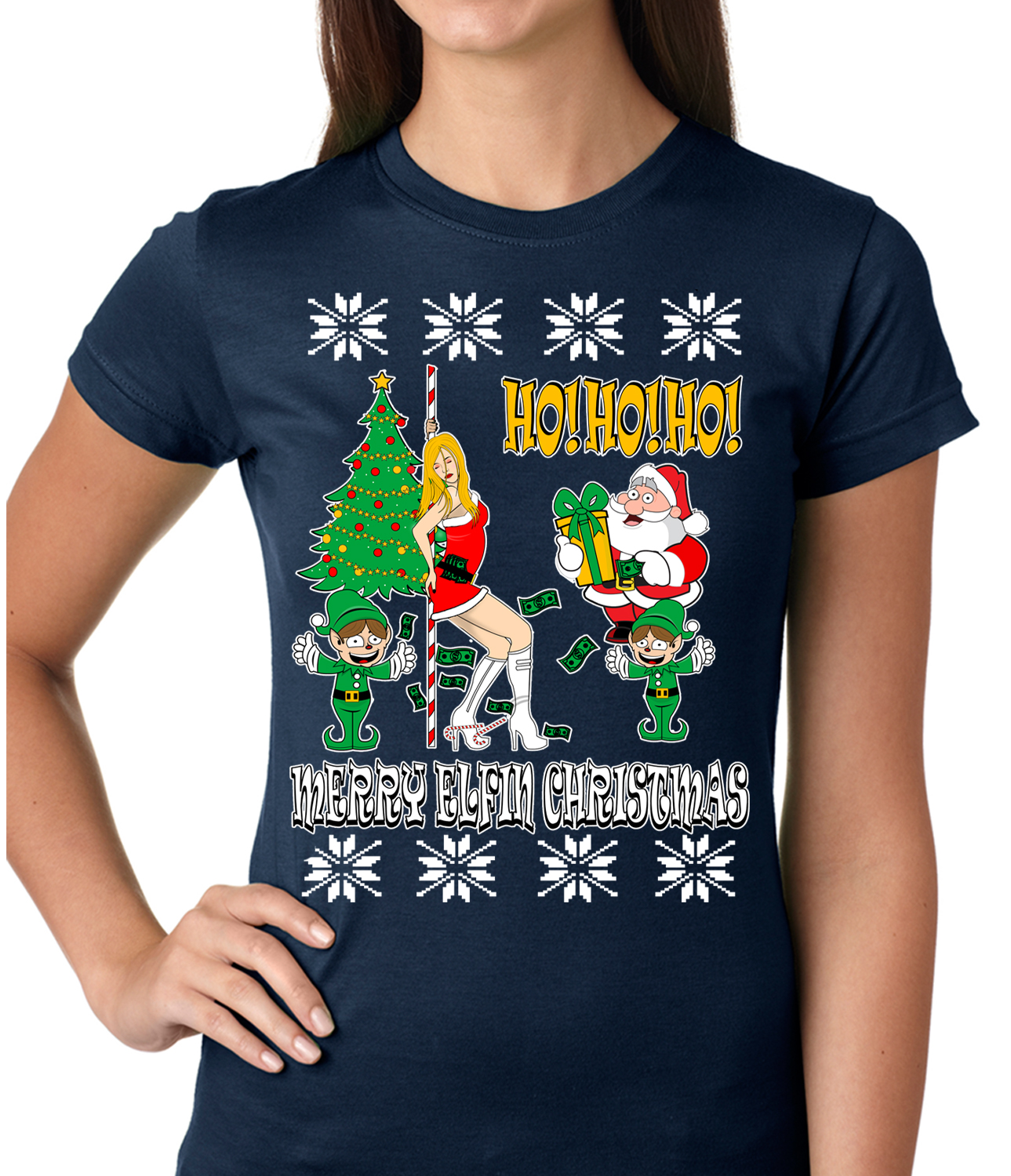 naughty christmas t shirts - Dirty Christmas Sweaters