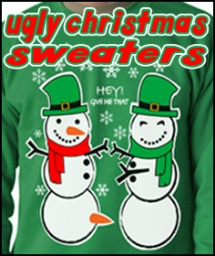 Ugly Christmas Sweaters -  Christmas In July and December