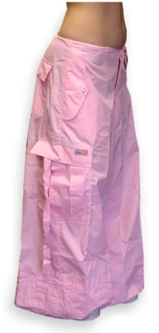 "Unisex 40 "" Wide Leg UFO Pants ( Light Pink)"