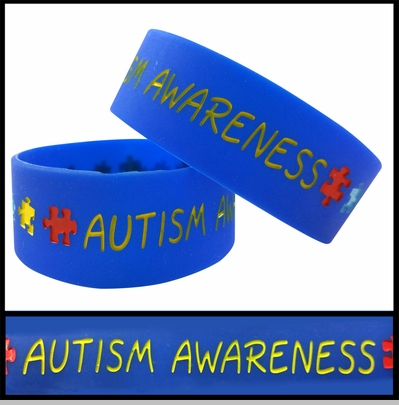 Unisex Bracelet - Autism Awareness<!-- Click to Enlarge-->