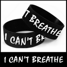 Unisex Bracelet - I Can't Breathe