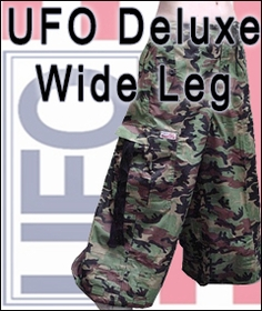 Unisex UFO Raver Pants with 40'' Wide Bottoms