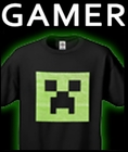 Video Game T-Shirts Featuring Minecraft Gamer T-shirts and Clothing