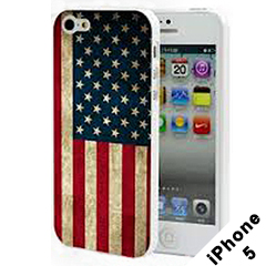 Vintage American Flag iphone Case (iphone 5)