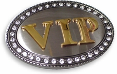 VIP Belt Buckle With Free Belt