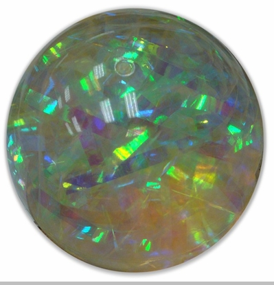 """Water Ball - Giant 4"""" 100mm Rainbow Prism  Water Ball<!-- Click to Enlarge-->"""