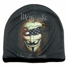 We the People V for Vendetta Beanie