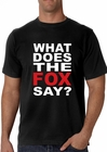 What Does The Fox Say? Men's T- Shirt