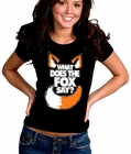 What Does The Fox Say? YLVIS YouTube Video Girl's T-Shirt