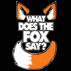 What Does The Fox Say? YLVIS YouTube Video Mens T-Shirt
