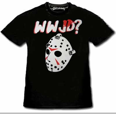 What Would Jason Do? T-Shirt :: Friday the 13th Jason Voorhees Tee<!-- Click to Enlarge-->