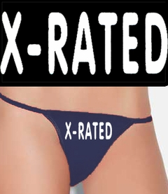 X - Rated Thong