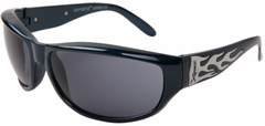 "X-Sportz ""Flames"" Men's Sunglasses"