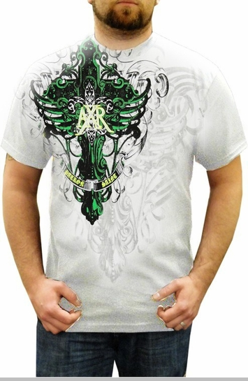 "Xzavier ""Across Waters"" T-Shirt (White)<!-- Click to Enlarge-->"