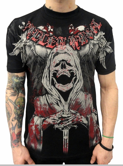 "Xzavier ""Angel of Death"" T-shirt (Black)<!-- Click to Enlarge-->"