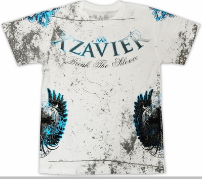 "Xzavier ""Break The Silence"" T-Shirt (White)<!-- Click to Enlarge-->"