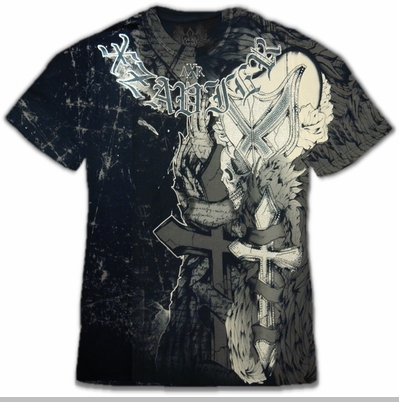 "Xzavier ""Cross My Heart"" Couture T-Shirt<!-- Click to Enlarge-->"