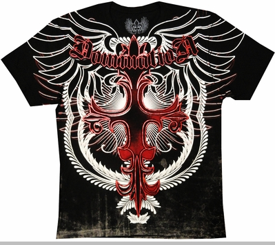 "Xzavier ""Domination"" Men's T-Shirt (Black)<!-- Click to Enlarge-->"