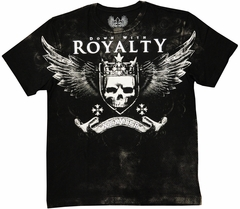 "Xzavier ""Down With Royalty"" Men's T-Shirt (Black)"