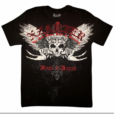 Xzavier Dust and Bones Mens T-shirt<!-- Click to Enlarge-->